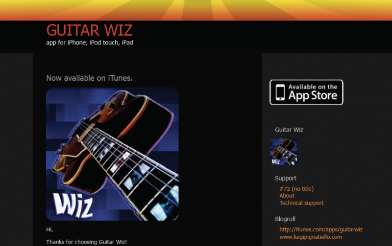 Guitar Wiz app