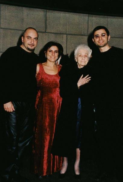 Nobel Rita Levi Montalcini, Cecilia Gonnelli, Ottavio Saviano